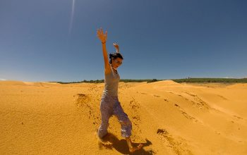 Желтая пустыня в Муйне