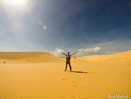 Белая пустыня в Муйне