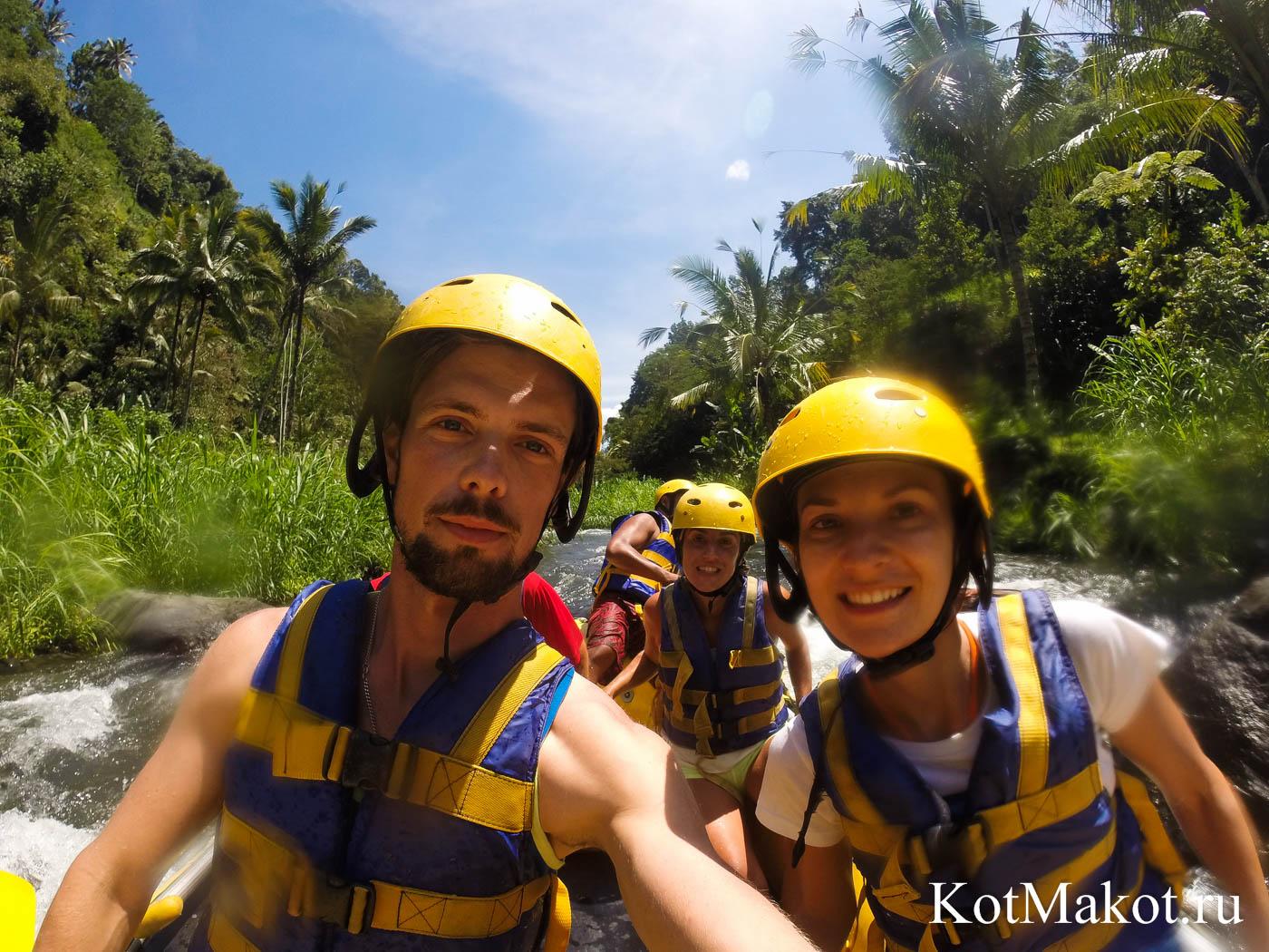Рафинг на Бали 2015 год