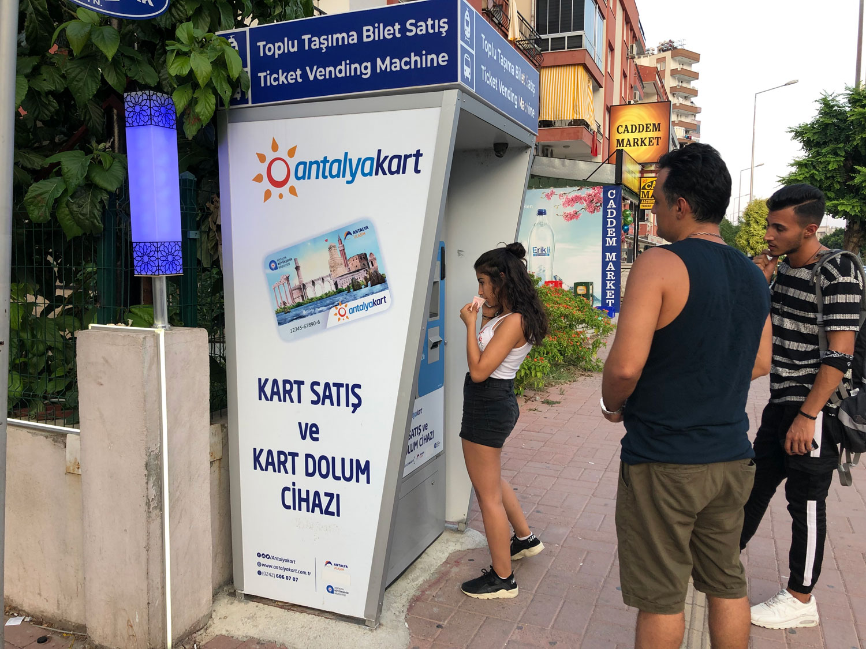 Как оплатить проезд в Автобусе в Анталии