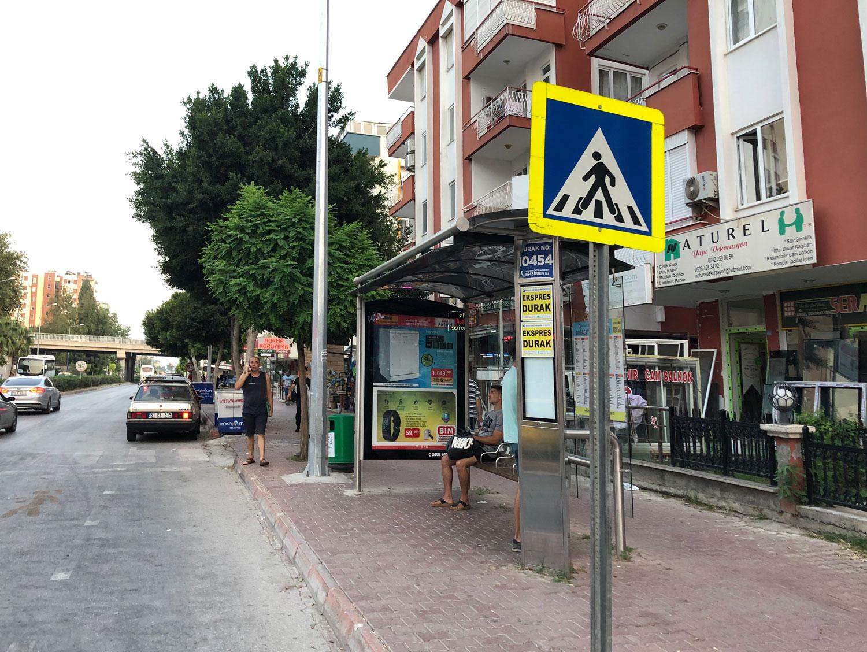 Автобусная остановка Анатлия