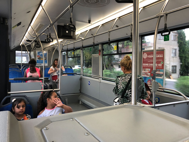 Автобусы в Анталии